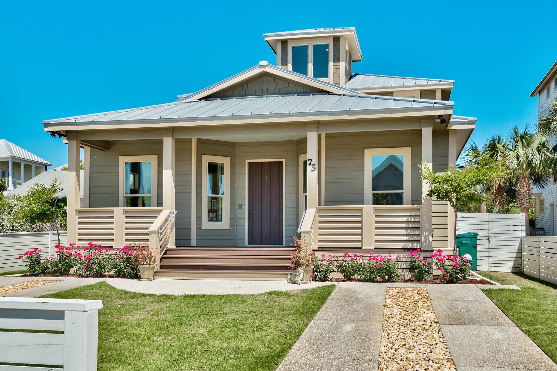 Custom Built Luxury Home In Crystal Beach Destin