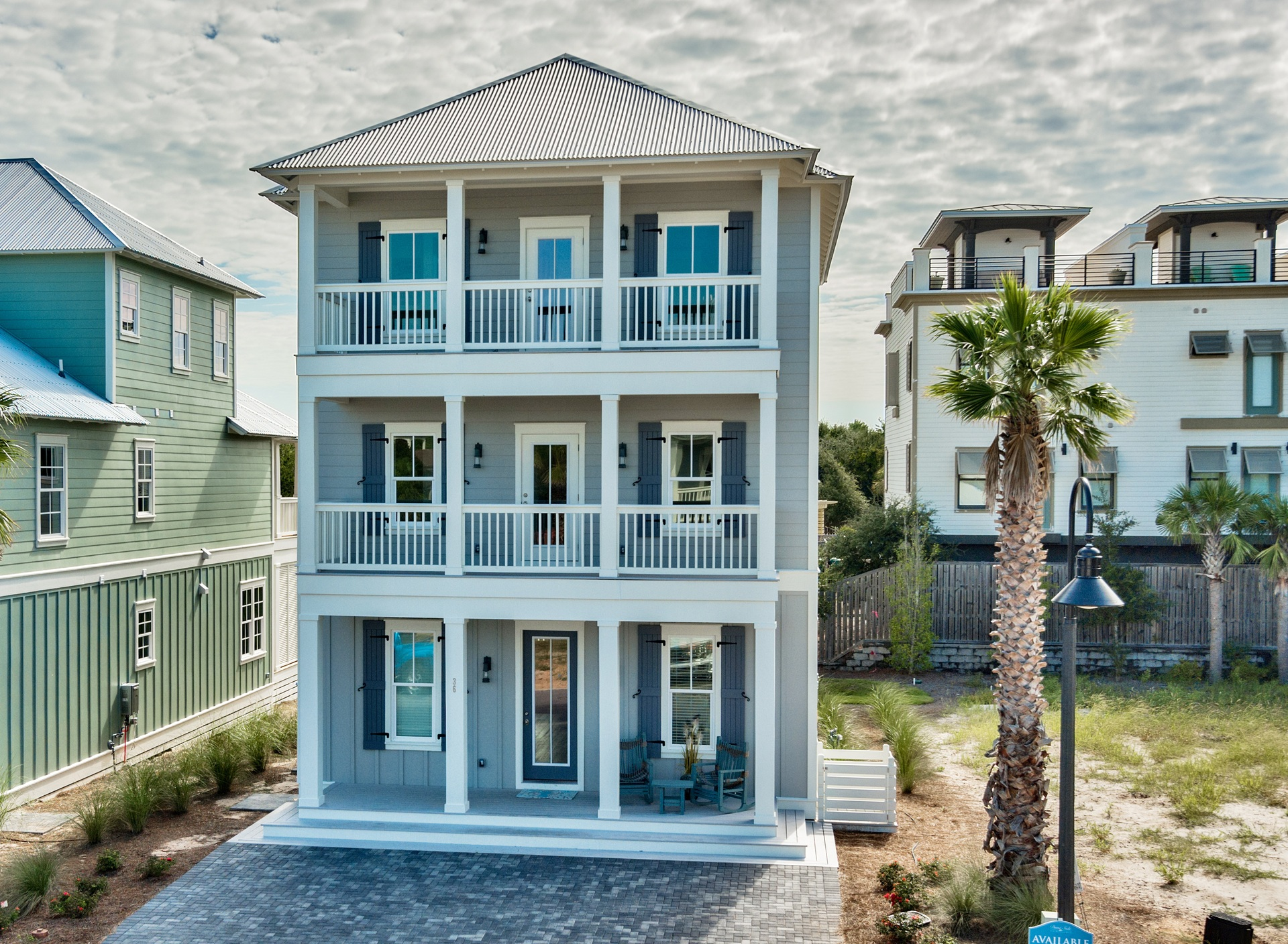 Dune side 30a new homes for sale for 30a home builders